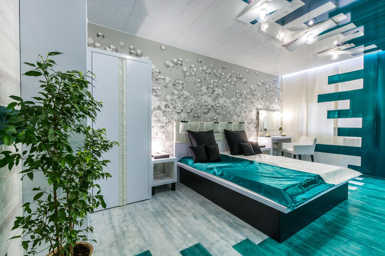 Дизайн спальни 10 кв.м 2017-2018 современные идеи