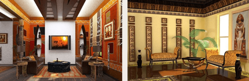 Стили декорирования интерьера