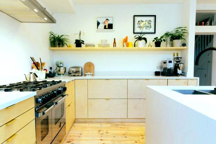 кухня 2 - Мебель из фанеры на заказ Киев