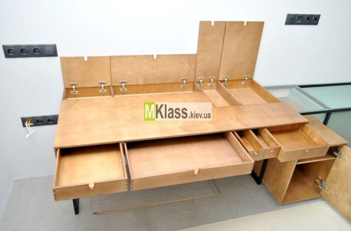 из фанеры и стекла - Мебель из фанеры на заказ Киев
