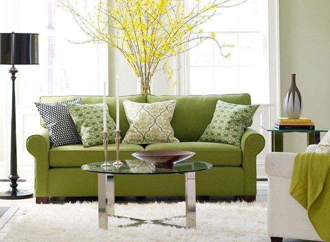 Мебель в зеленом цвете на заказ