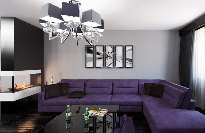 Screenshot 13 - Мебель в фиолетовом цвете