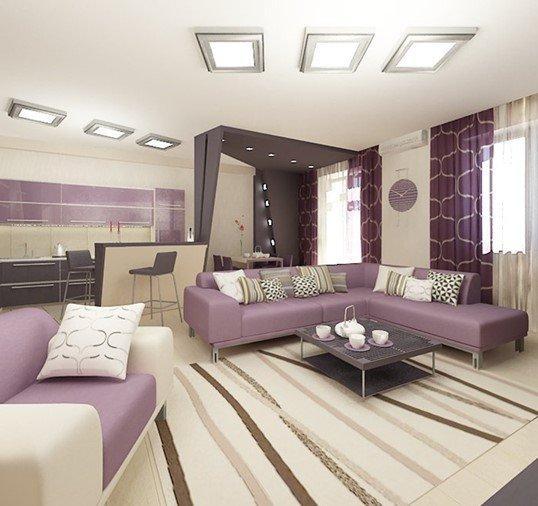 Screenshot 15 - Мебель в фиолетовом цвете