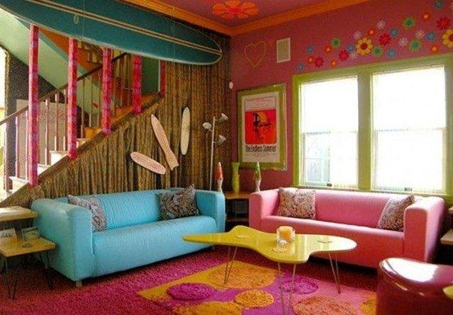 Мебель в розовом цвете на заказ