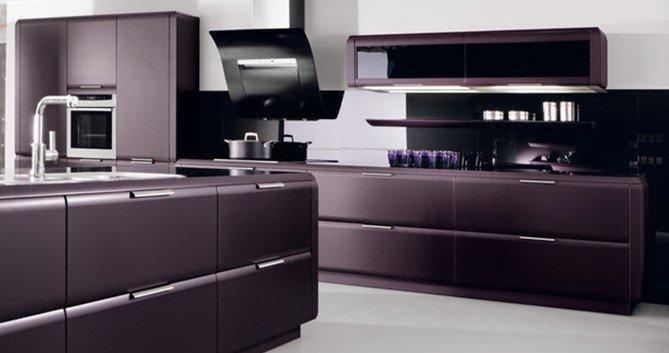 Мебель в фиолетовом цвете