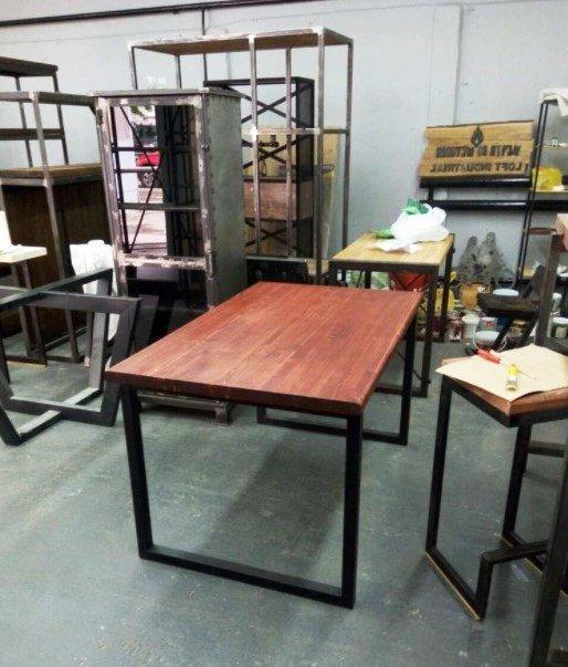 Мебель в стиле ЛОФТ на заказ