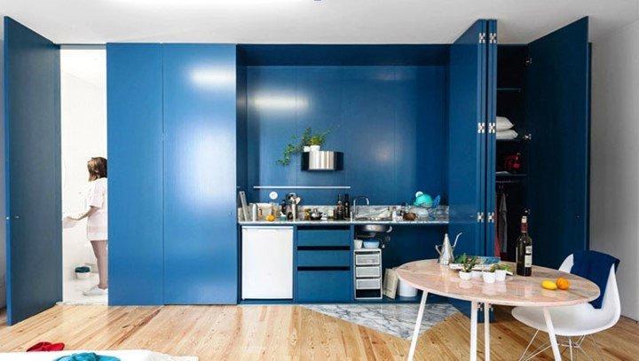 Трендовые цвета для кухонь