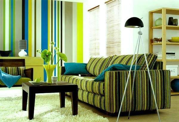 диван обои - Маленькая гостиная