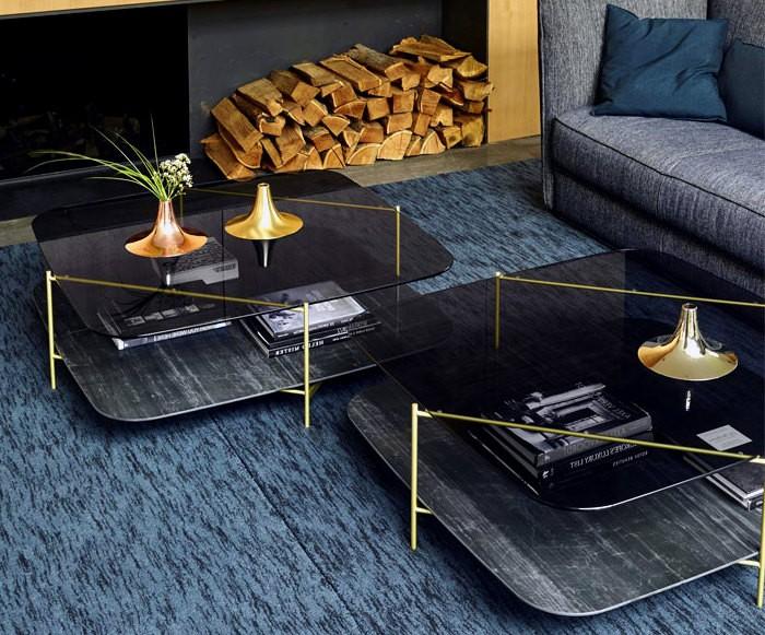 3 материалов для столиков - Обустройство гостиных