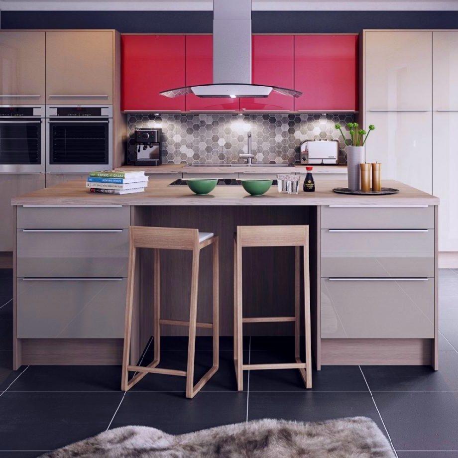 2 цвета - Обустройство Кухни