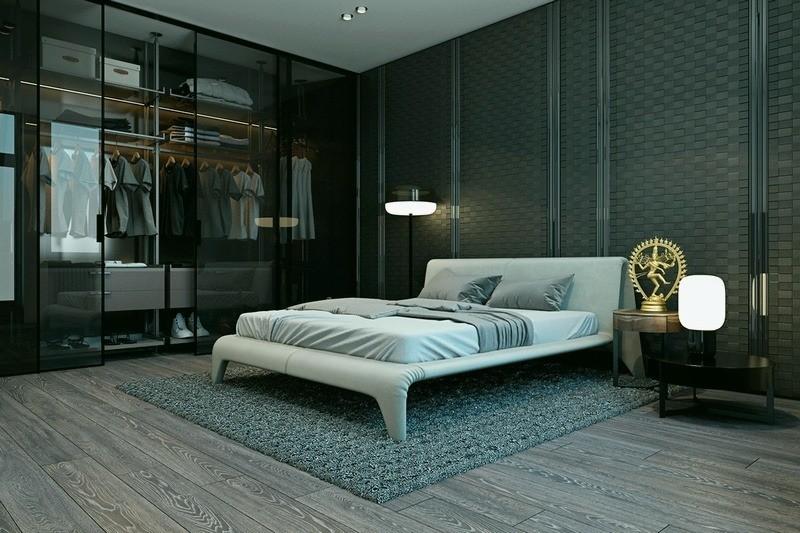 Шкаф в спальню на заказ