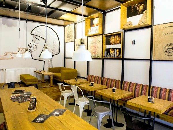Мебель для кофейни на заказ