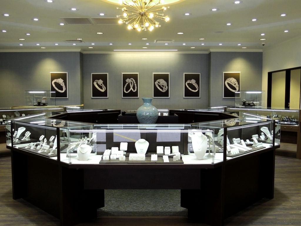 Мебель для ювелирного салона на заказ